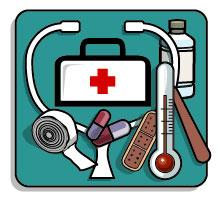 Botiquín de emergencias en casa y de viaje